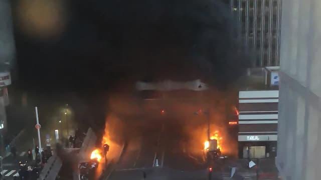 L'incendie à gare de Lyon