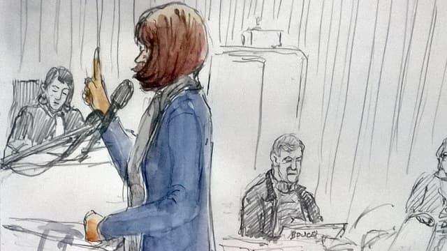 """""""Jade"""", ancienne prostituée, a livré un témoignage bouleversant jeudi lors du procès du Carlton de Lille."""