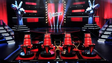 Le plateau de l'émission The Voice