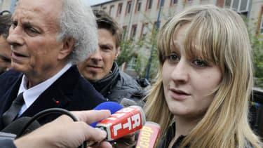 Cécile Bourgeon, mère de Fiona, à Clermont-Ferrand le 16 mai 2013.