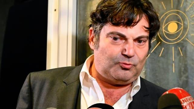 L'un des avocats de Jonathann Daval Randall Schwerdorffer au palais de justice de Vesoul (Haute-Saône), le 21 novembre 2020