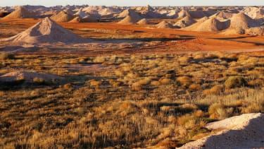 Un paysage en Australie