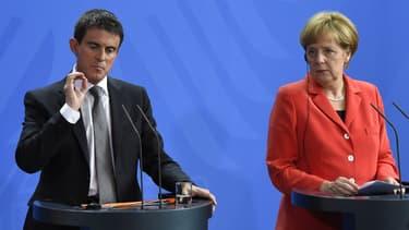 """Angel Merkel a jugé """"impressionnant"""" le programme de réformes."""