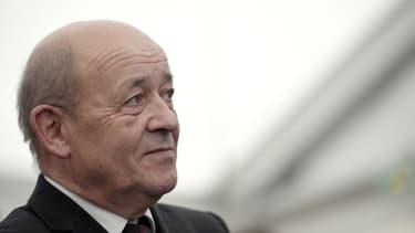 Le ministre de la Défense Jean-Yves Le Drian, en décembre 2014.