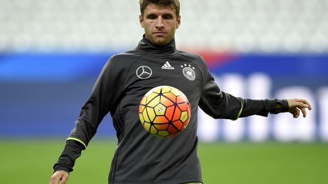 Thomas Müller, la star de la Mannschaft