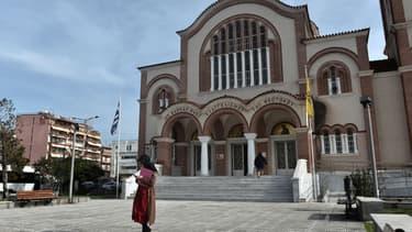 Une église orthodoxe en Grèce