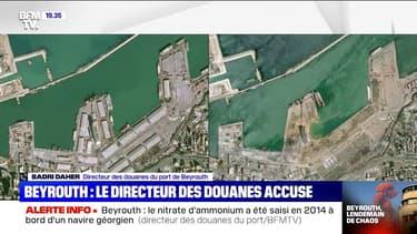 Le directeur des douanes du port de Beyrouth dit avoir alerté la justice de la dangerosité du stockage du nitrate d'ammonium