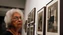 Des photographies du gourou indien Sri Aurobindo prises par Henri Cartier-Bresson sont exposées pour la première fois depuis plus de soixante ans, au centre culturel de l'Alliance française à New Delhi. /Photo prise le 19 septembre 2012/REUTERS/Mansi Thap
