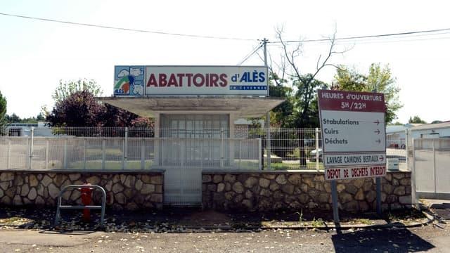 """L'abattoir municipal d'Alès, surnommé """"l'abattoir de la honte""""."""