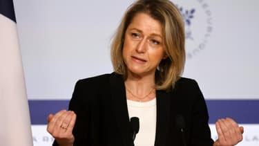 La ministre de la Transition écologique Barbara Pompili, le 10 février 2021 à Paris
