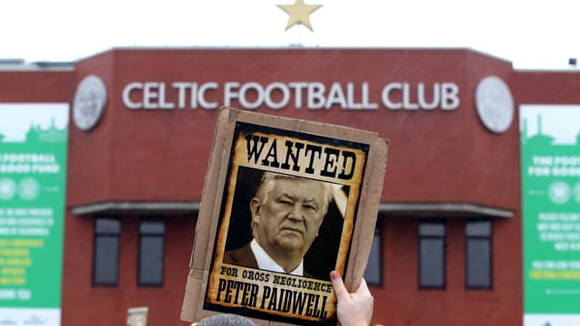 Peter Lawwell, président du Celtic