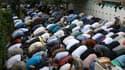 Fête de l'Aïd à la Grande Mosquée de Paris.