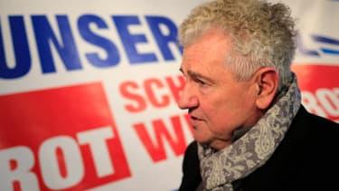 Andreas Mölzer, ex-tête de liste pour les élections européennes du parti d'extrême droite autrichien FPÖ.