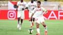 Wissam Ben Yedder sous le maillot de l'AS Monaco