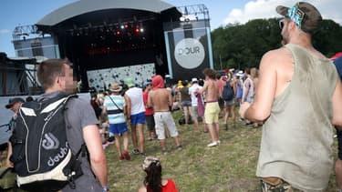 Le Dour Festival rassemble chaque année des dizaines de milliers d'amateurs de musique.