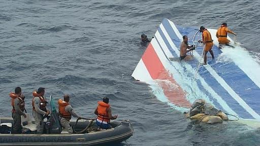Les débris du vol Air France - Image d'illustration