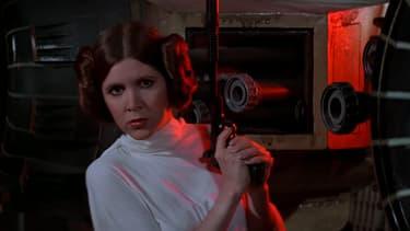 Carrie Fisher est la princesse Leia