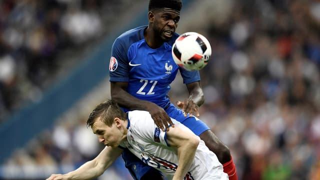 Samuel Umtiti, le défenseur central des Bleus