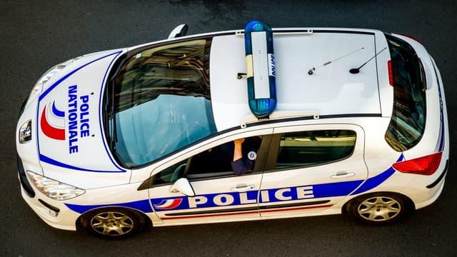 Voiture de police à Lille le 1( mai 2014 (Photo d'illustration).