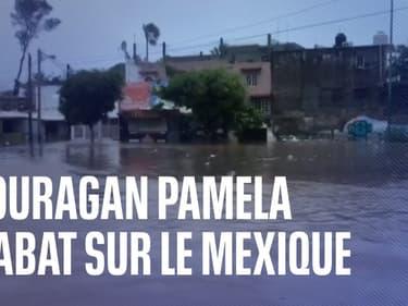 Mexique: l'ouragan Pamela, de catégorie 1, a touché terre