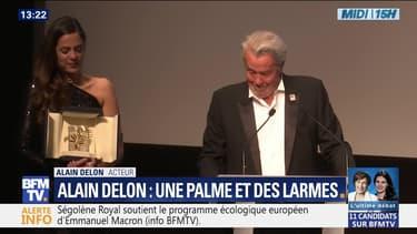Cannes : Alain Delon tire sa révérence