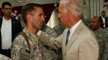 Joe Biden et son fils Beau, le 4 juillet 2009