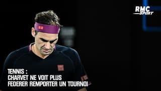 Tennis : Charvet ne voit plus Federer remporter un tournoi