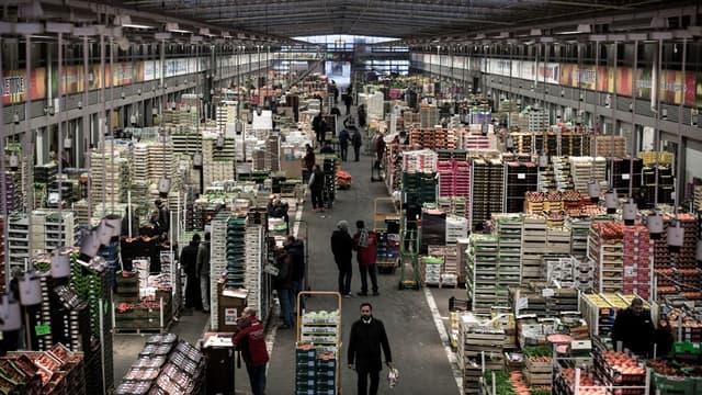 Le marché de Rungis (Val-de-Marne) est aujourd'hui proche de la saturation.