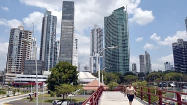Le quartier des affaires de Panama city
