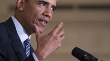 Le président américain Barack Obama, le 3 août 2015 à Washington.