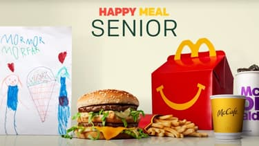 McDonald's a commercialisé un Happy Meal Senior en Suède