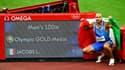 Lamont Marcel Jacobs en or sur le 100m aux JO de Tokyo