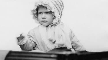 La reine Elizabeth II bébé.
