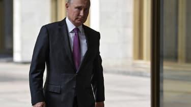Vladimir Poutine à Moscou, le 9 septembre 2018
