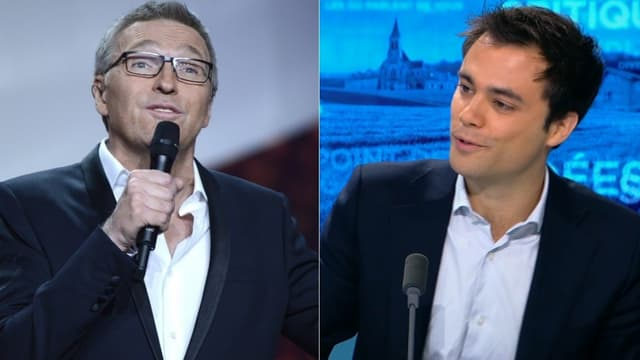 Laurent Ruquier et Charles Consigny