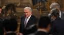 A Paris pour les besoins du G20, Dominique Strauss-Kahn, ici à l'Elysée, a joué au chat et à la souris avec les journalistes qui tentent de percer ses intentions présidentielles pour 2012. /Photo prise le 18 février 2011/REUTERS/Philippe Wojazer