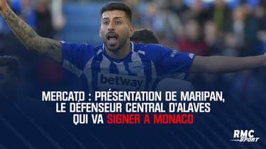 Mercato : Présentation de Maripan, le défenseur central d'Alaves qui va signer à Monaco