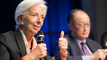 Christine Lagarde, présidente du Fonds monétaire international