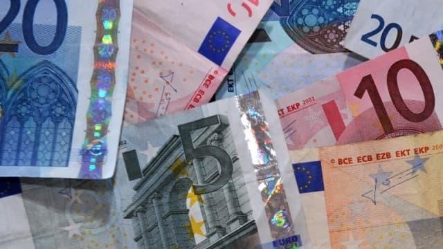 Billet d'euros (photo d'illustration)