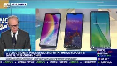 Benaouda Abdeddaïm : Le gouvernement indien bloque l'importation des dispositifs sans fil fabriqués en Chine - 10/05