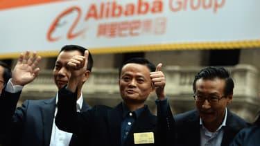 La stratégie de Jack Ma, fondateur et patron d'Alibaba, est de devenir un géant mondial du Net, comme Google, Apple ou Amazon.
