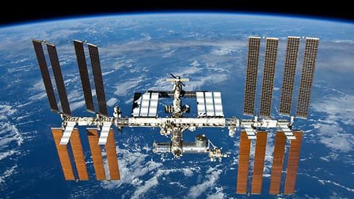 La station spatiale internationale (ISS).