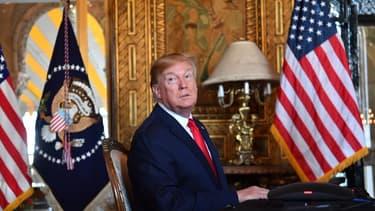 """Noël: Trump espère un """"beau vase"""" plutôt qu'un missile nord-coréen"""