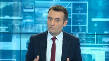 Florian Philippot, président des Patriotes sur notre antenne ce jeudi.
