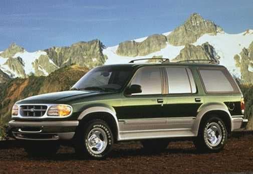 Le Ford Explorer est le troisième véhicule le plus vendu aux Etats-Unis en 1995. Effectivement, en vert bouteille il fait bien moins mal aux yeux.