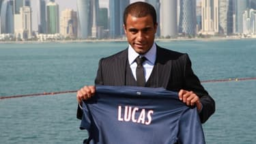Lucas Moura est le joueur du PSG le mieux côté, avec 45 millions d'euros.