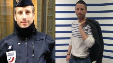 Xavier Jugelé, le policier tué sur les Champs-Elysées.