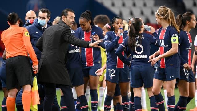 Le PSG devra patienter pour disputer son 8e de finale aller.