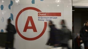 Le RER A est resté fermé jusqu'à 8h30 ce lundi.