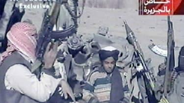 Hamza Ben Laden en 2001 AL-JAZEERA / AFP